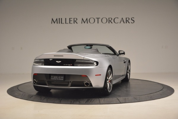 Used 2015 Aston Martin V12 Vantage S Roadster for sale Sold at Alfa Romeo of Westport in Westport CT 06880 7