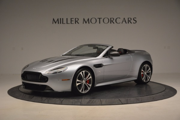 Used 2015 Aston Martin V12 Vantage S Roadster for sale Sold at Alfa Romeo of Westport in Westport CT 06880 1