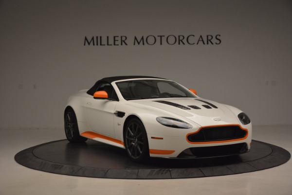 Used 2017 Aston Martin V12 Vantage S Convertible for sale $155,900 at Alfa Romeo of Westport in Westport CT 06880 23