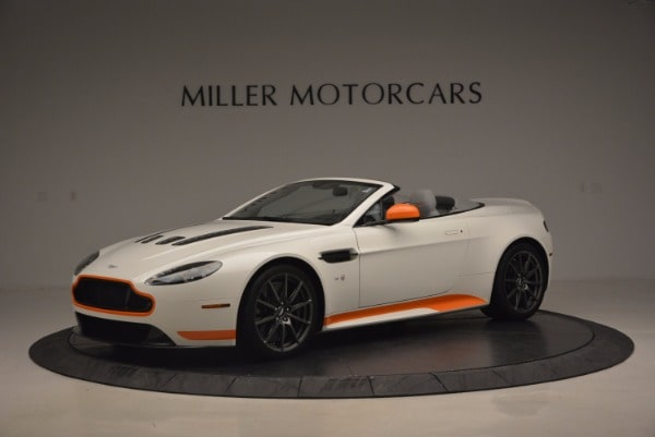 Used 2017 Aston Martin V12 Vantage S Convertible for sale $155,900 at Alfa Romeo of Westport in Westport CT 06880 1