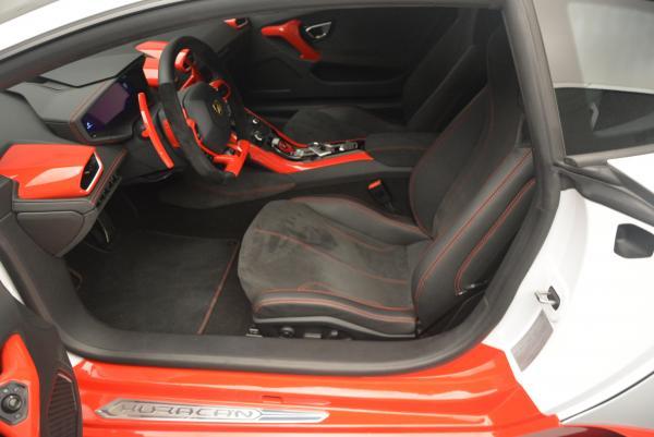 Used 2015 Lamborghini Huracan LP610-4 for sale Sold at Alfa Romeo of Westport in Westport CT 06880 15