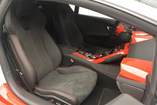 Used 2015 Lamborghini Huracan LP610-4 for sale Sold at Alfa Romeo of Westport in Westport CT 06880 18