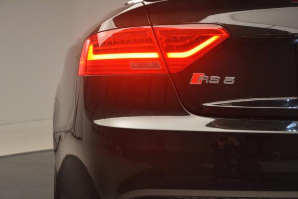 Used 2014 Audi RS 5 quattro for sale Sold at Alfa Romeo of Westport in Westport CT 06880 26