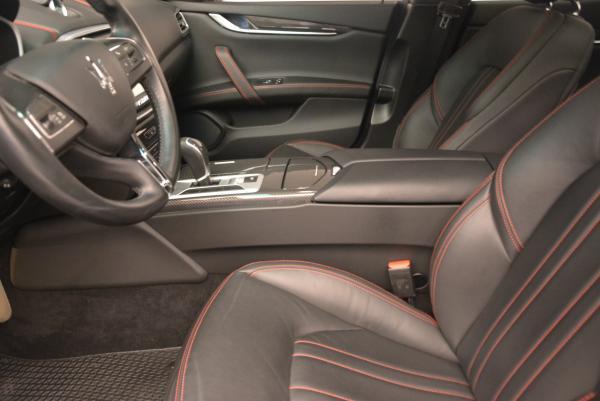 Used 2015 Maserati Ghibli S Q4 for sale Sold at Alfa Romeo of Westport in Westport CT 06880 13