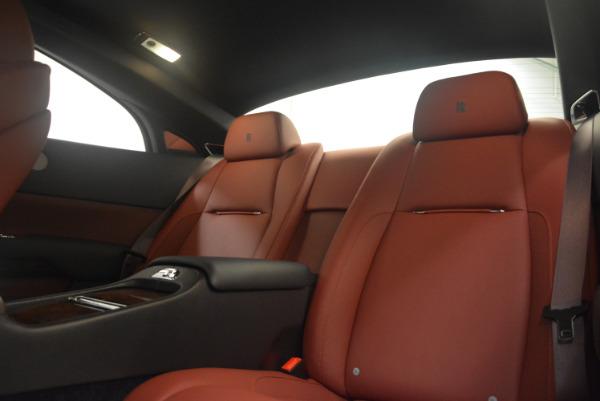 Used 2016 Rolls-Royce Wraith for sale Sold at Alfa Romeo of Westport in Westport CT 06880 24