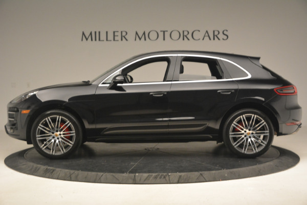 Used 2016 Porsche Macan Turbo for sale Sold at Alfa Romeo of Westport in Westport CT 06880 3