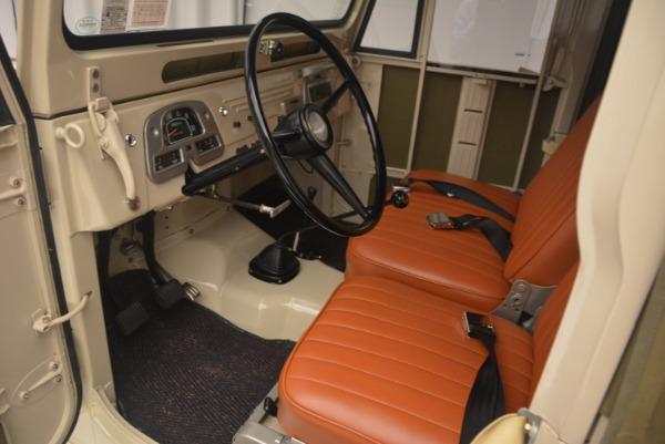 Used 1966 Toyota FJ40 Land Cruiser Land Cruiser for sale Sold at Alfa Romeo of Westport in Westport CT 06880 15