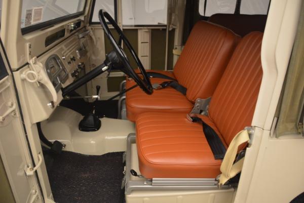 Used 1966 Toyota FJ40 Land Cruiser Land Cruiser for sale Sold at Alfa Romeo of Westport in Westport CT 06880 16