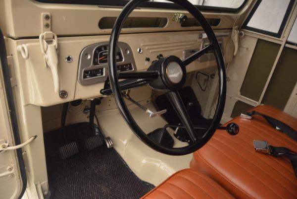 Used 1966 Toyota FJ40 Land Cruiser Land Cruiser for sale Sold at Alfa Romeo of Westport in Westport CT 06880 17