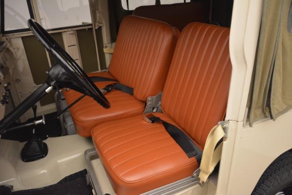 Used 1966 Toyota FJ40 Land Cruiser Land Cruiser for sale Sold at Alfa Romeo of Westport in Westport CT 06880 18