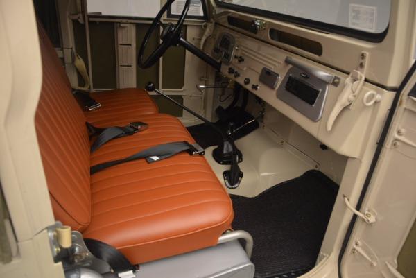 Used 1966 Toyota FJ40 Land Cruiser Land Cruiser for sale Sold at Alfa Romeo of Westport in Westport CT 06880 19