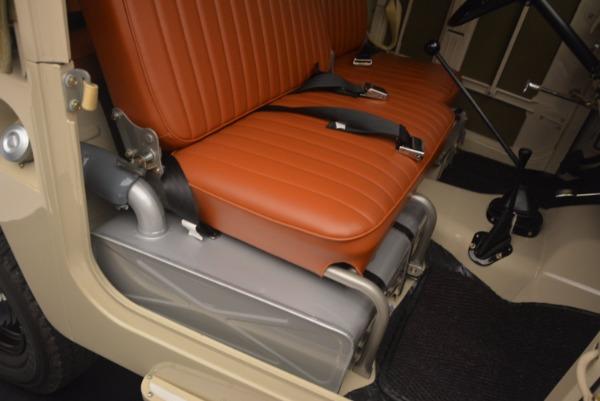 Used 1966 Toyota FJ40 Land Cruiser Land Cruiser for sale Sold at Alfa Romeo of Westport in Westport CT 06880 22