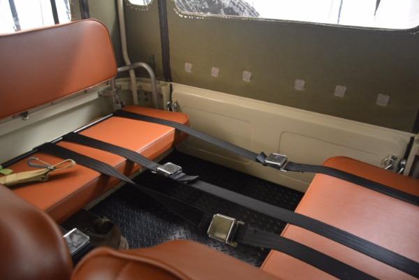 Used 1966 Toyota FJ40 Land Cruiser Land Cruiser for sale Sold at Alfa Romeo of Westport in Westport CT 06880 23