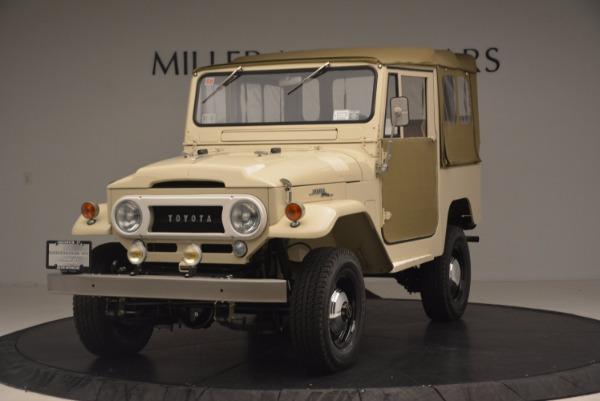 Used 1966 Toyota FJ40 Land Cruiser Land Cruiser for sale Sold at Alfa Romeo of Westport in Westport CT 06880 1