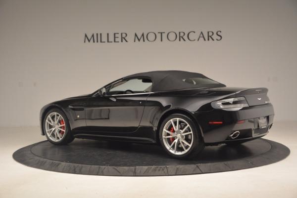 Used 2012 Aston Martin V8 Vantage S Roadster for sale Sold at Alfa Romeo of Westport in Westport CT 06880 16