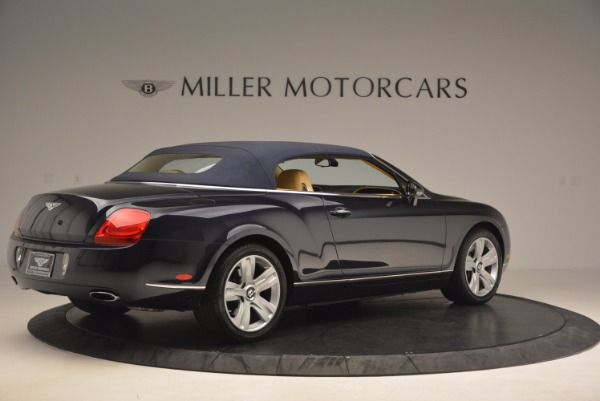 Used 2007 Bentley Continental GTC for sale Sold at Alfa Romeo of Westport in Westport CT 06880 22
