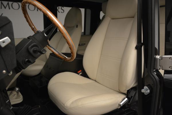 Used 1985 LAND ROVER Defender 110 for sale Sold at Alfa Romeo of Westport in Westport CT 06880 13