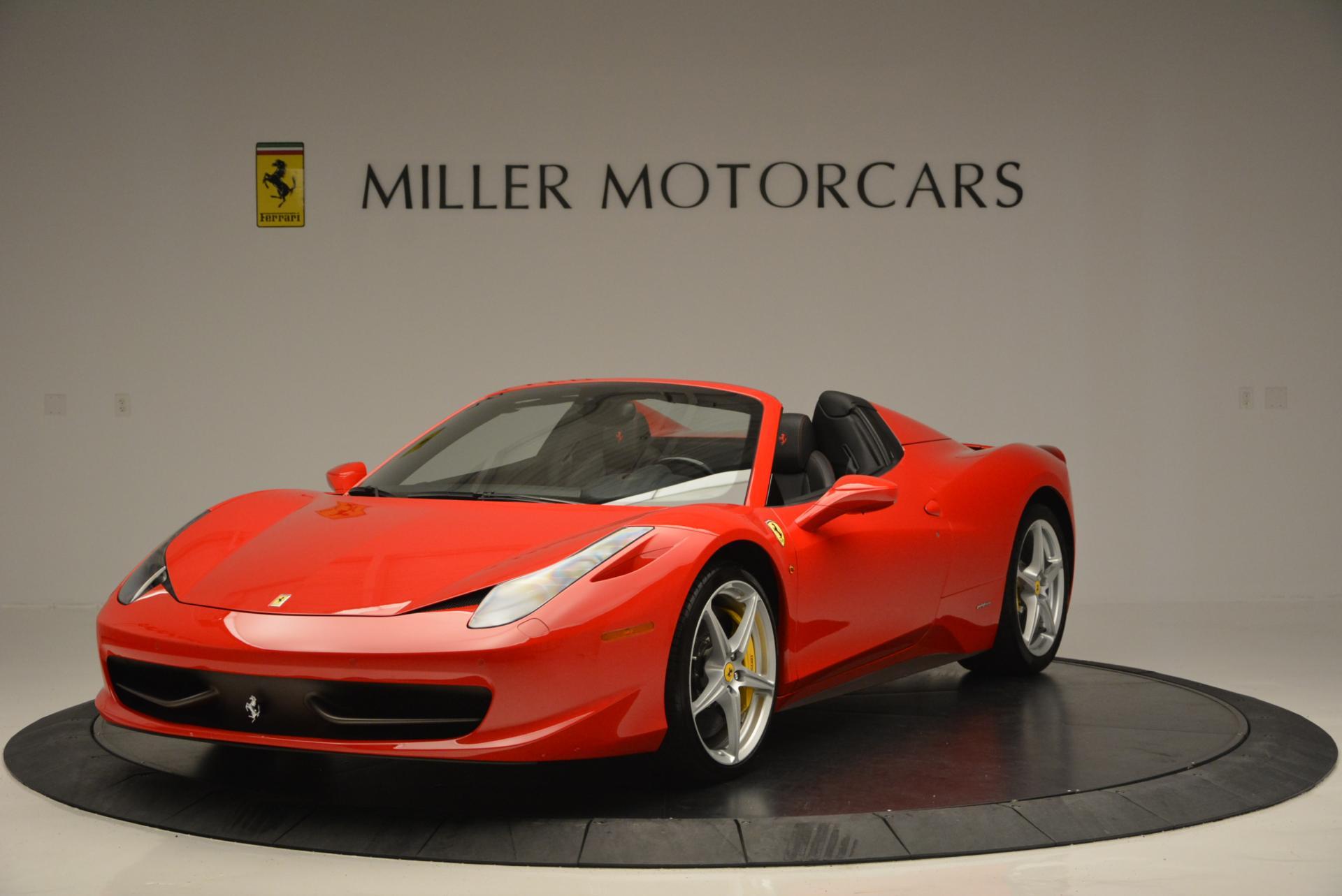 Used 2014 Ferrari 458 Spider for sale Sold at Alfa Romeo of Westport in Westport CT 06880 1