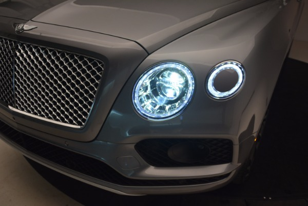 New 2018 Bentley Bentayga Onyx for sale Sold at Alfa Romeo of Westport in Westport CT 06880 17