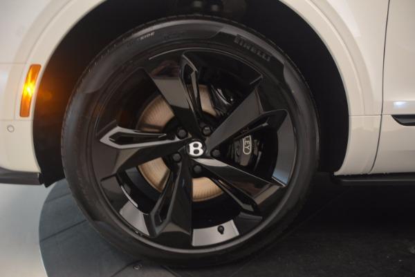 New 2018 Bentley Bentayga Black Edition for sale Sold at Alfa Romeo of Westport in Westport CT 06880 25