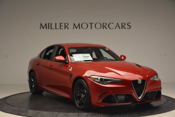 New 2017 Alfa Romeo Giulia Quadrifoglio Quadrifoglio for sale Sold at Alfa Romeo of Westport in Westport CT 06880 11