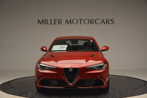 New 2017 Alfa Romeo Giulia Quadrifoglio Quadrifoglio for sale Sold at Alfa Romeo of Westport in Westport CT 06880 12