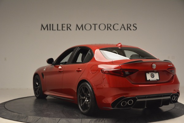 New 2017 Alfa Romeo Giulia Quadrifoglio Quadrifoglio for sale Sold at Alfa Romeo of Westport in Westport CT 06880 5