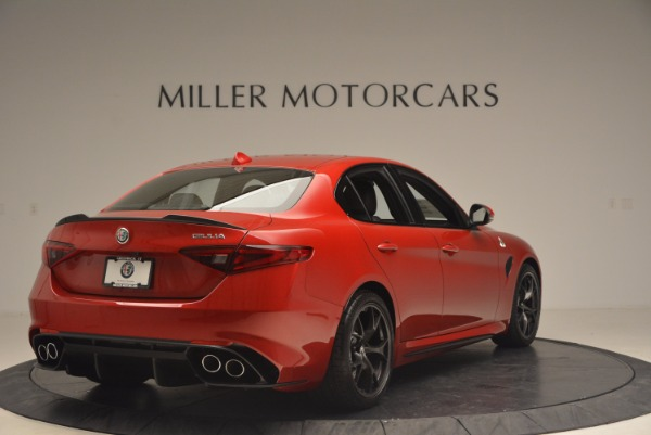 New 2017 Alfa Romeo Giulia Quadrifoglio Quadrifoglio for sale Sold at Alfa Romeo of Westport in Westport CT 06880 7