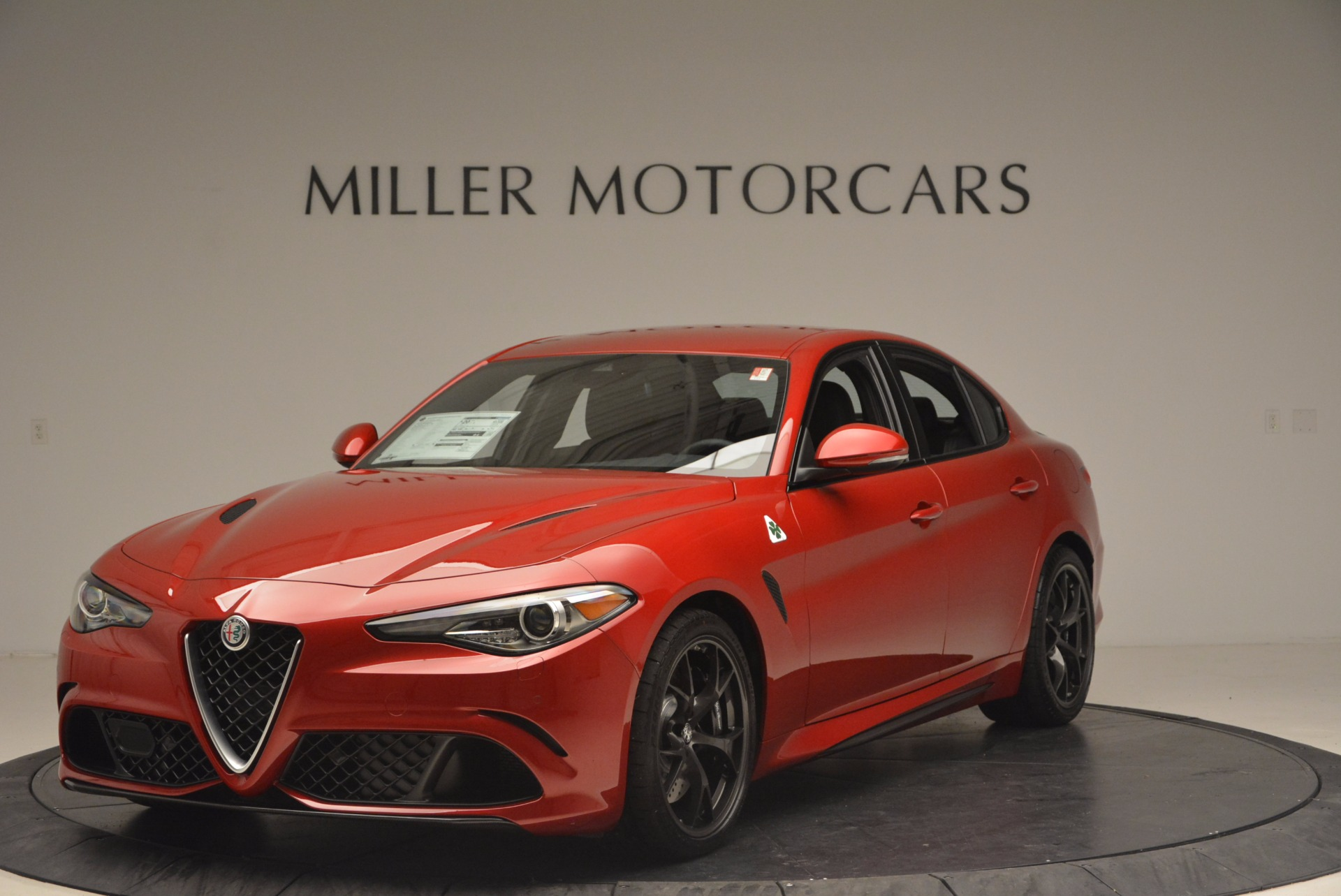 New 2017 Alfa Romeo Giulia Quadrifoglio Quadrifoglio for sale Sold at Alfa Romeo of Westport in Westport CT 06880 1