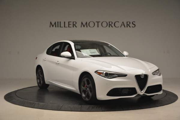 New 2017 Alfa Romeo Giulia Ti Q4 for sale Sold at Alfa Romeo of Westport in Westport CT 06880 13