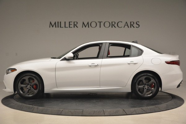 New 2017 Alfa Romeo Giulia Ti Q4 for sale Sold at Alfa Romeo of Westport in Westport CT 06880 4