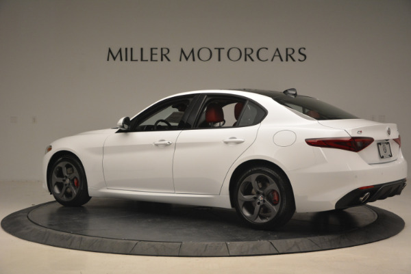 New 2017 Alfa Romeo Giulia Ti Q4 for sale Sold at Alfa Romeo of Westport in Westport CT 06880 6