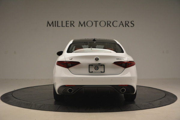 New 2017 Alfa Romeo Giulia Ti Q4 for sale Sold at Alfa Romeo of Westport in Westport CT 06880 8