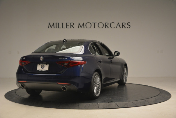 New 2017 Alfa Romeo Giulia Ti Q4 for sale Sold at Alfa Romeo of Westport in Westport CT 06880 7