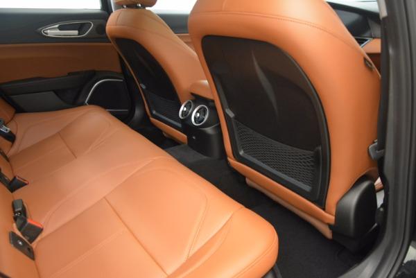 New 2017 Alfa Romeo Giulia Ti Q4 for sale Sold at Alfa Romeo of Westport in Westport CT 06880 22