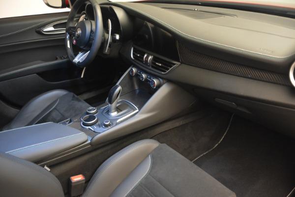Used 2017 Alfa Romeo Giulia Quadrifoglio for sale Sold at Alfa Romeo of Westport in Westport CT 06880 21