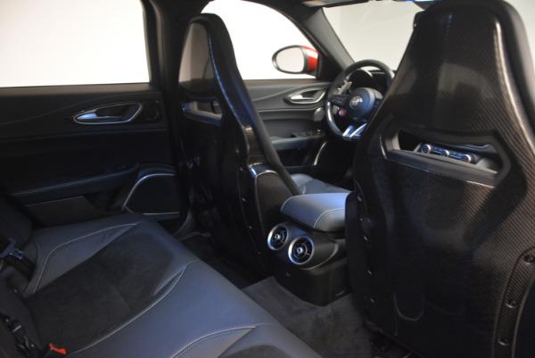 Used 2017 Alfa Romeo Giulia Quadrifoglio for sale Sold at Alfa Romeo of Westport in Westport CT 06880 25