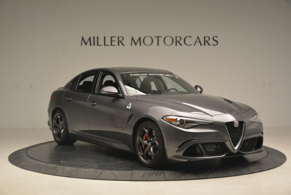New 2017 Alfa Romeo Giulia Quadrifoglio for sale Sold at Alfa Romeo of Westport in Westport CT 06880 12