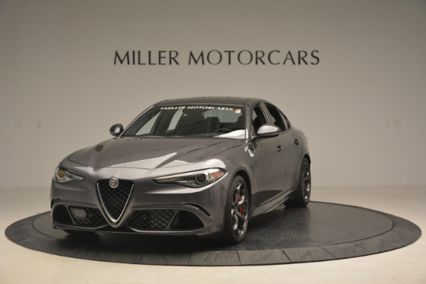 New 2017 Alfa Romeo Giulia Quadrifoglio for sale Sold at Alfa Romeo of Westport in Westport CT 06880 2