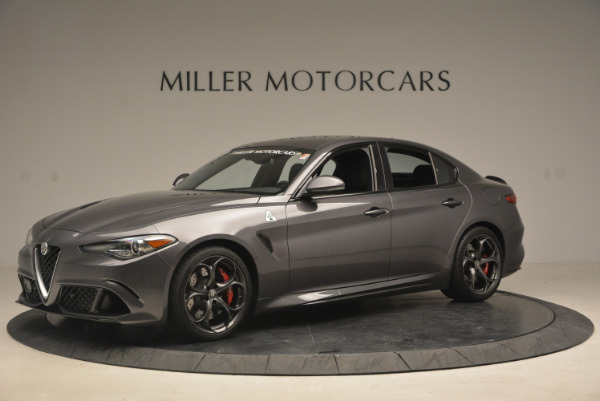 New 2017 Alfa Romeo Giulia Quadrifoglio for sale Sold at Alfa Romeo of Westport in Westport CT 06880 3