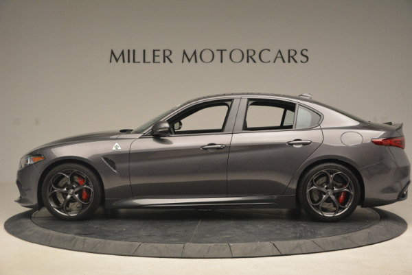 New 2017 Alfa Romeo Giulia Quadrifoglio for sale Sold at Alfa Romeo of Westport in Westport CT 06880 4