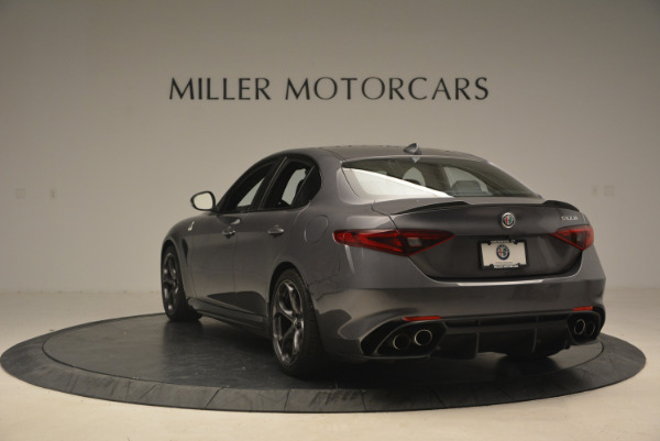 New 2017 Alfa Romeo Giulia Quadrifoglio for sale Sold at Alfa Romeo of Westport in Westport CT 06880 6