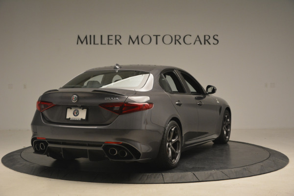 New 2017 Alfa Romeo Giulia Quadrifoglio for sale Sold at Alfa Romeo of Westport in Westport CT 06880 8