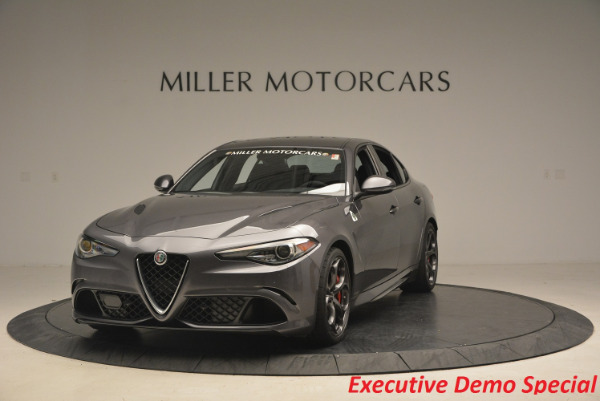 New 2017 Alfa Romeo Giulia Quadrifoglio for sale Sold at Alfa Romeo of Westport in Westport CT 06880 1