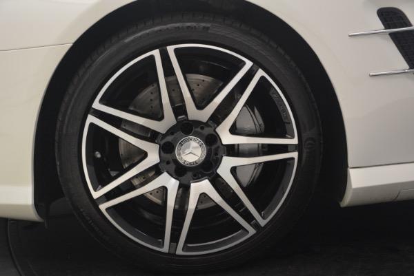 Used 2015 Mercedes Benz SL-Class SL 550 for sale Sold at Alfa Romeo of Westport in Westport CT 06880 27