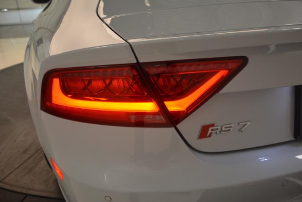 Used 2014 Audi RS 7 4.0T quattro Prestige for sale Sold at Alfa Romeo of Westport in Westport CT 06880 19