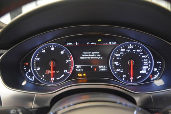 Used 2014 Audi RS 7 4.0T quattro Prestige for sale Sold at Alfa Romeo of Westport in Westport CT 06880 26