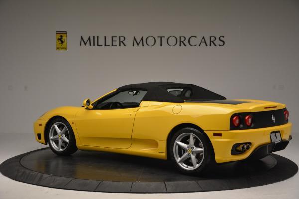 Used 2003 Ferrari 360 Spider 6-Speed Manual for sale Sold at Alfa Romeo of Westport in Westport CT 06880 16