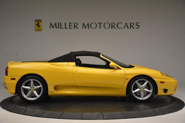 Used 2003 Ferrari 360 Spider 6-Speed Manual for sale Sold at Alfa Romeo of Westport in Westport CT 06880 21