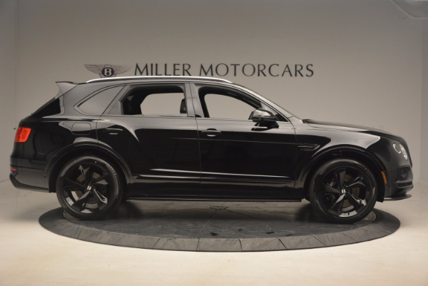 New 2018 Bentley Bentayga Black Edition for sale Sold at Alfa Romeo of Westport in Westport CT 06880 9